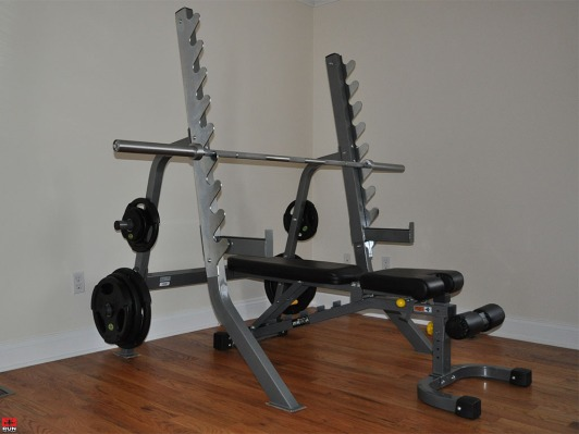 Hudson Steel Co. Bench and Squat Stand