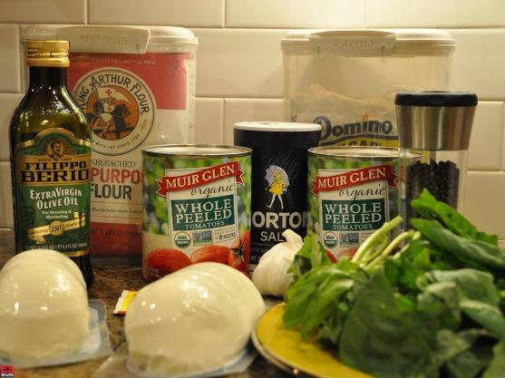 Margherita Pizza Ingredients