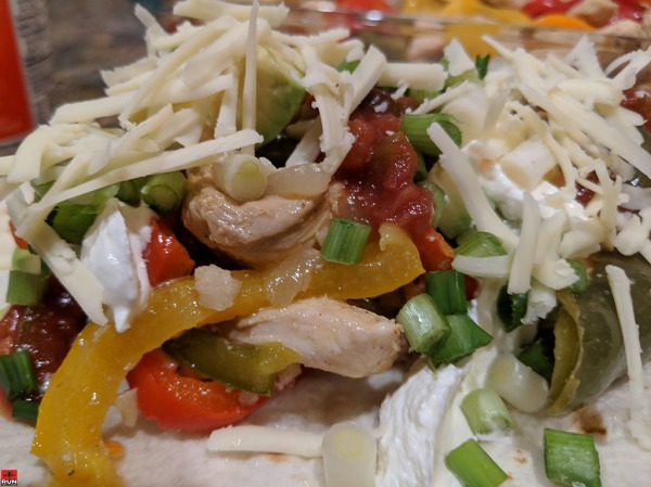 Chicken Fajitas are a flavor and nutrients explosion