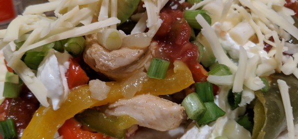 Chicken Fajitas are a flavor and nutrients explosion