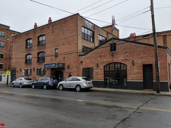 Sunday brunch at Saltaire Oyster Bar, Port Chester, New York
