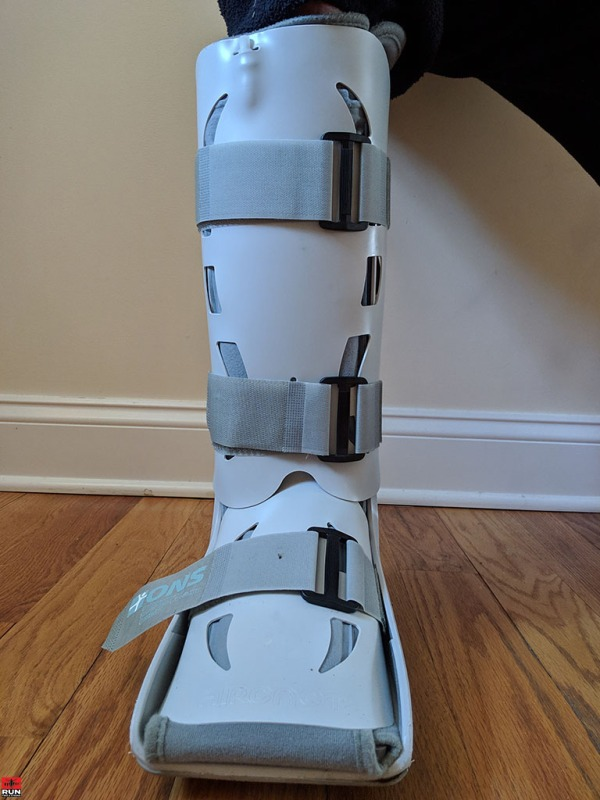 Stress Reaction Injury in Aircast Boot