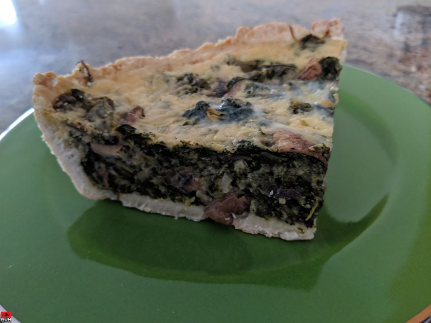Nutrient-packed, savory Spinach Quiche