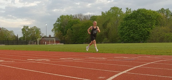 Track Workout, June 2019