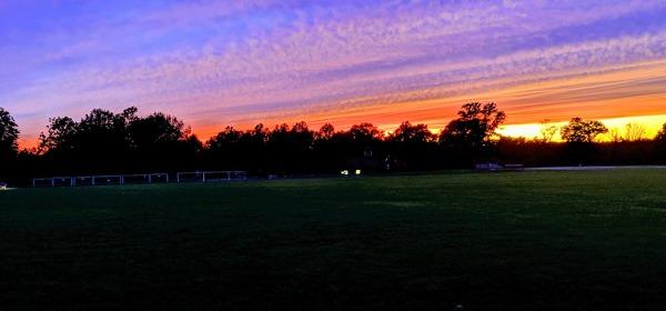 Sunset in Waveny Park, Summer 2019