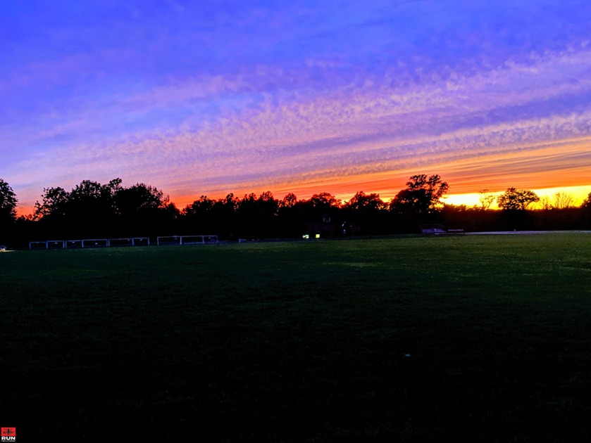 Sunset in Waveny Park, Summer 2019